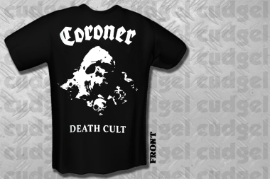 CORONER - death cult T-Shirt