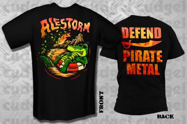 ALESTORM - aligator T-Shirt