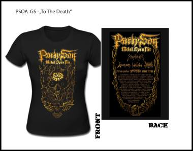 PARTY.SAN OPEN AIR 2018 - to the death Girlie Shirt