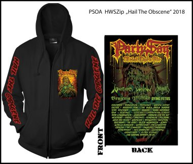 PARTY.SAN OPEN AIR 2018 - hail the obscene Hooded Zipper