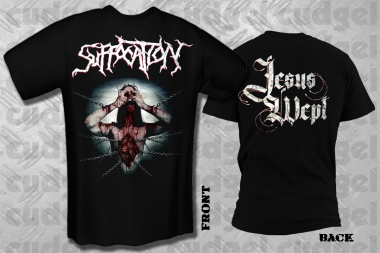 SUFFOCATION - jesus wept new T-Shirt