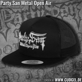 PARTY.SAN OPEN AIR - trucker cap