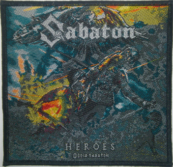 SABATON - heroes PATCH