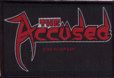 ACCÜSED, THE - logo PATCH