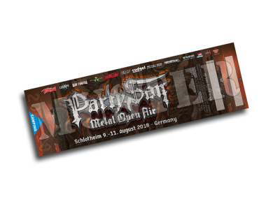 3 Tage Ticket PARTY.SAN OPEN AIR 2018