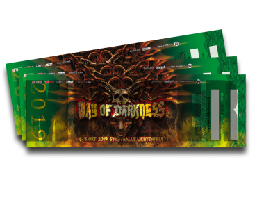WAY OF DARKNESS 2019 2 Tage Ticket