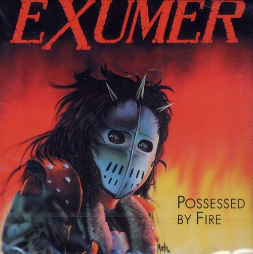 EXUMER - possessed by fire LP+7""