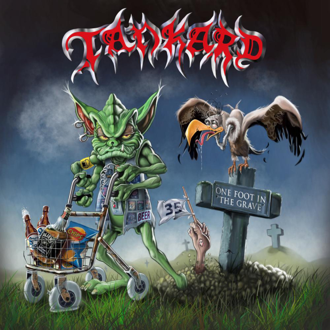 TANKARD - one foot in the grave LP