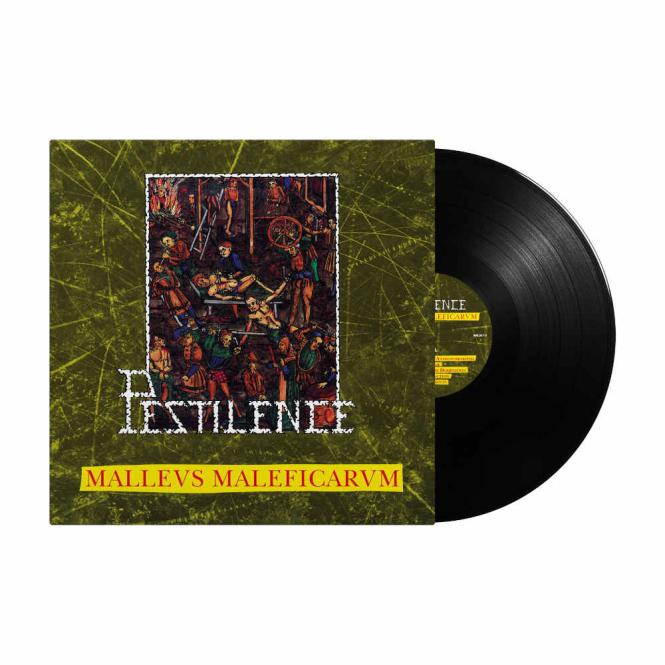 PESTILENCE - malleus malleficarum LP