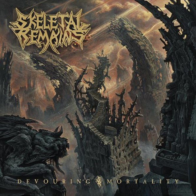 SKELETAL REMAINS - devouring mortality LP+CD