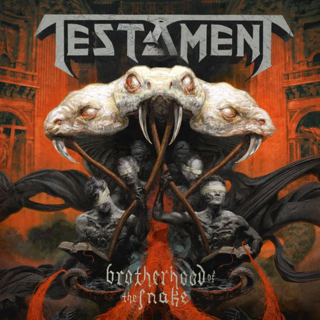 TESTAMENT - brotherhood of the snake DLP red