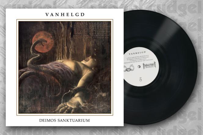 VANHELGD - deimos sanktuarium LP black