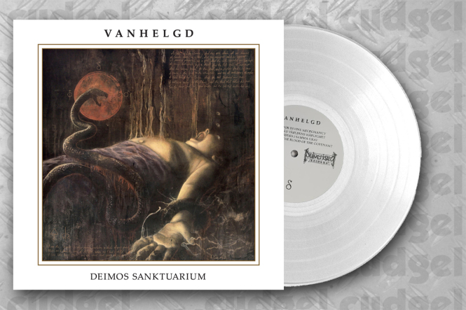 VANHELGD - deimos sanktuarium LP white exclusive