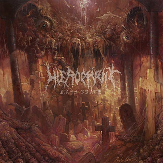 HIEROPHANT - mass grave LP