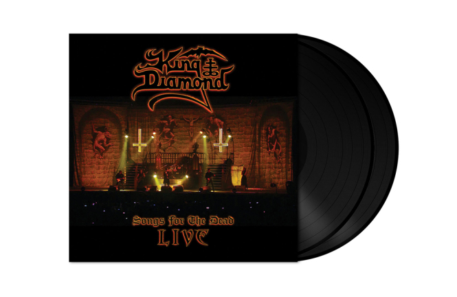 KING DIAMOND - songs for the dead DLP