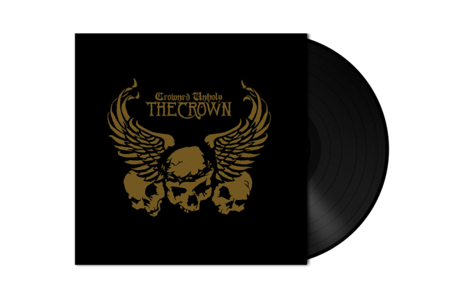 CROWN, THE - crowned unholy LP black