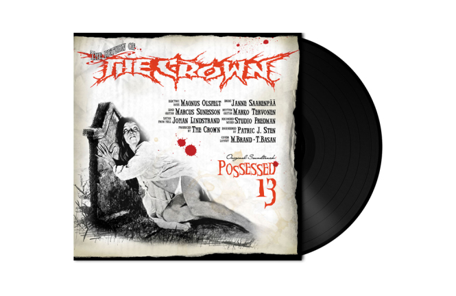 CROWN, THE - possessed 13 LP black
