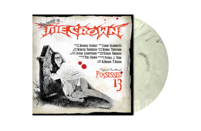 CROWN, THE - possessed 13 LP grey