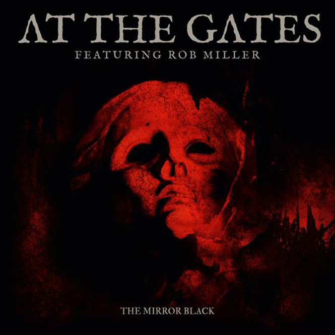 AT THE GATES - the mirror black 7""