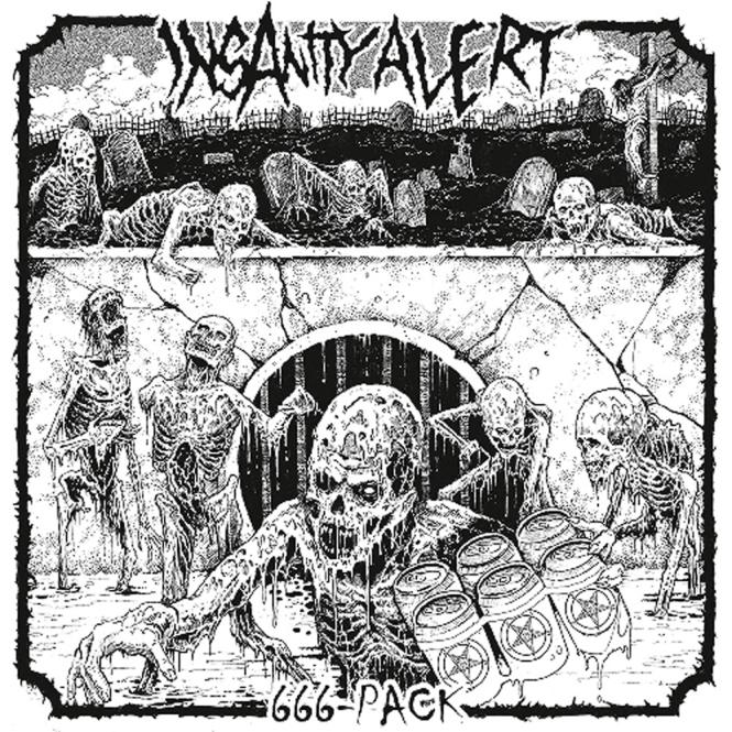 INSANITY ALERT - 666-pack LP