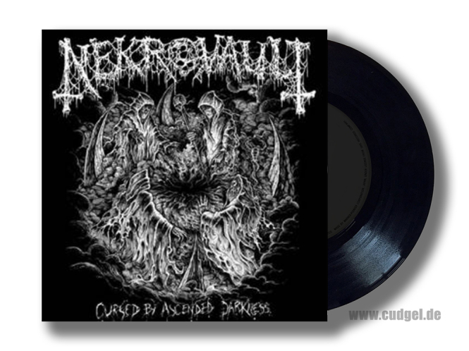 """NEKROVAULT - cursed by ascended darkness 7"""""""