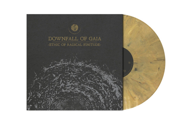 DOWNFALL OF GAIA - ethic of radical finitude LP gold