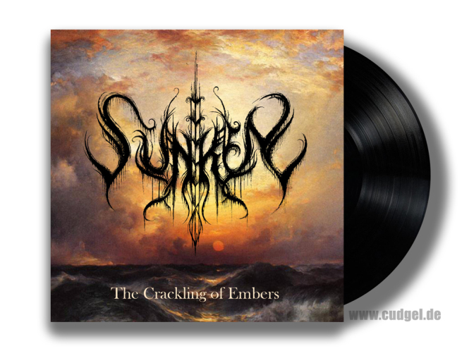 SUNKEN - the crackling of embers LP