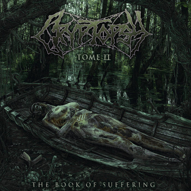 CRYPTOPSY - the book of suffering tome II MLP