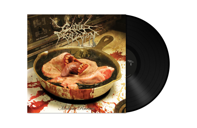 CATTLE DECAPITATION - medium rarities LP black
