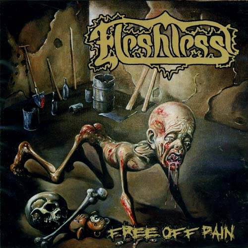 FLESHLESS - free of pain/stench of rotting head CD