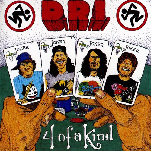 D.R.I. - four of a kind CD