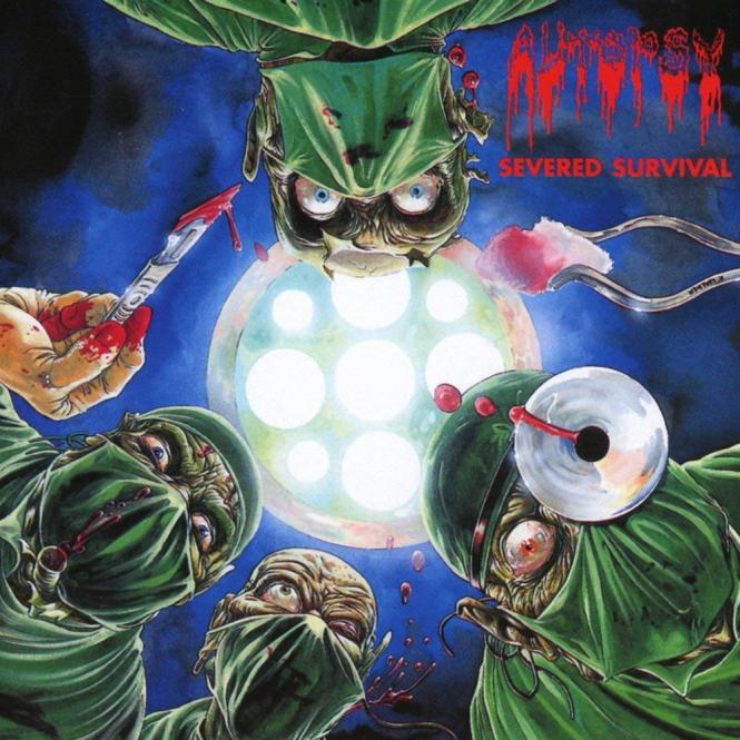 AUTOPSY - severed survival CD