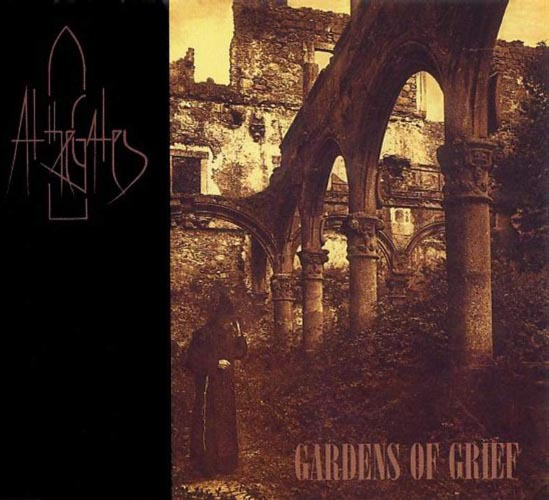 AT THE GATES - gardens of grief MCD