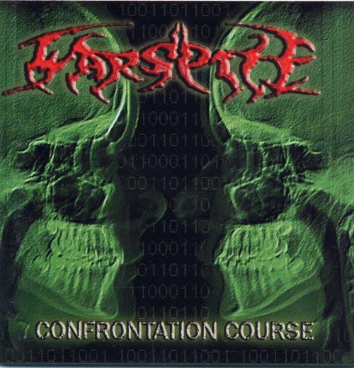 WARSPITE - confrontation course CD