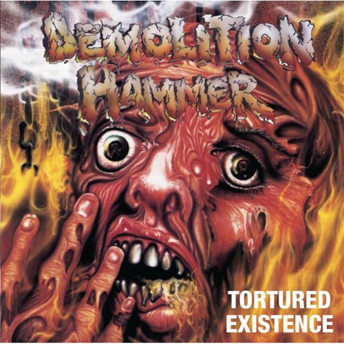 DEMOLITION HAMMER - tortured existence CD