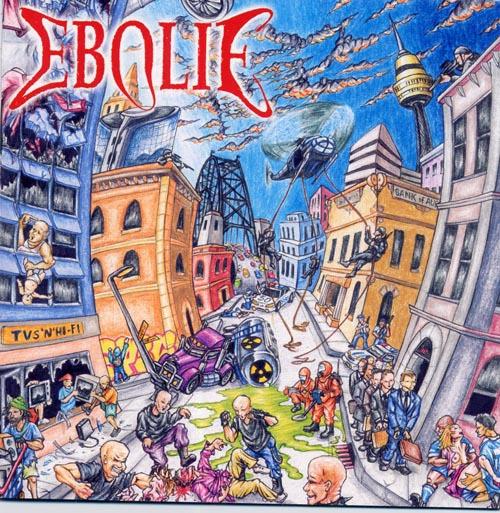 EBOLIE - elevation into disintegration CD