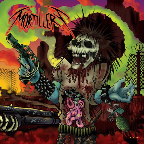 MORTILLERY - murder death kill CD