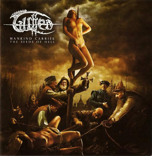 GUTTED - mankind carries the seeds of hell CD