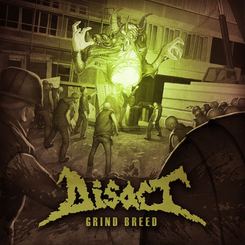 DISACT - grind breed CD