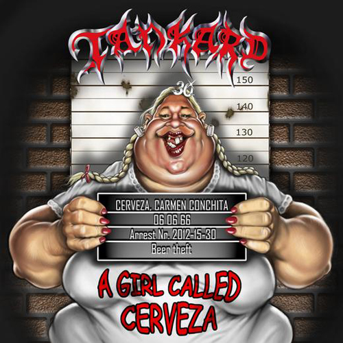 TANKARD - a girl called cerveza lim.DigiCD+DVD