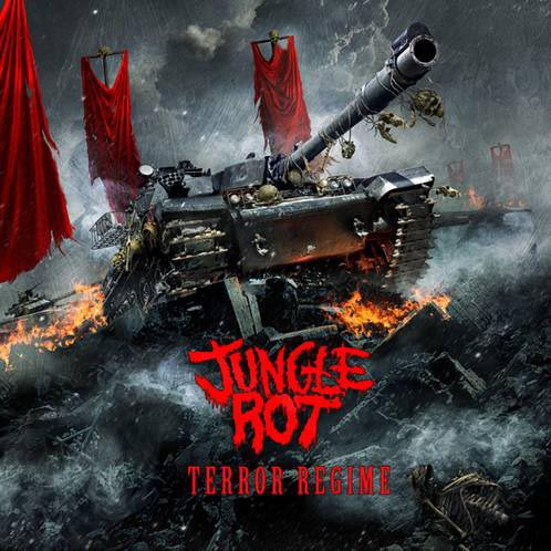 JUNGLE ROT - terror regime CD