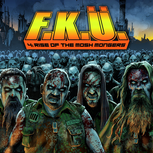 F.K.Ü. - 4:the rise of the mosh mongers DigiCD