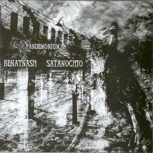 BENATNASH / SATANOCHIO - split CD