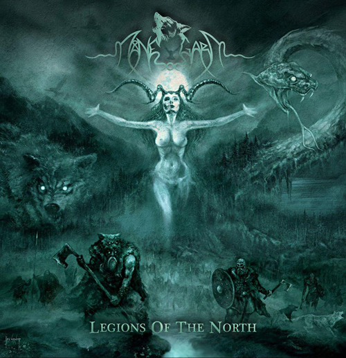 MANEGARM - legions of the north CD