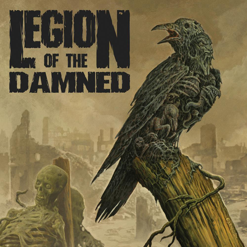 LEGION OF THE DAMNED - ravenous plague CD