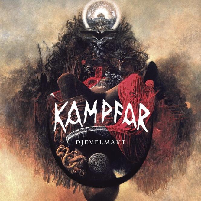KAMPFAR - djevelmakt CD