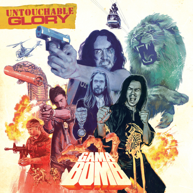 GAMA BOMB - untouchable glory CD