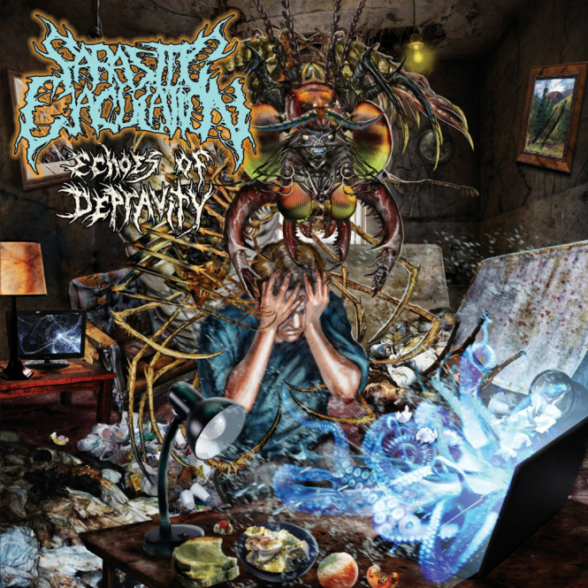 PARASITIC EJACULATION - echoes of depravity CD