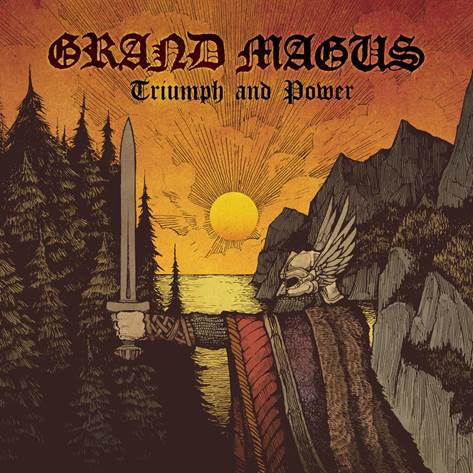 GRAND MAGUS - triumph and power CD