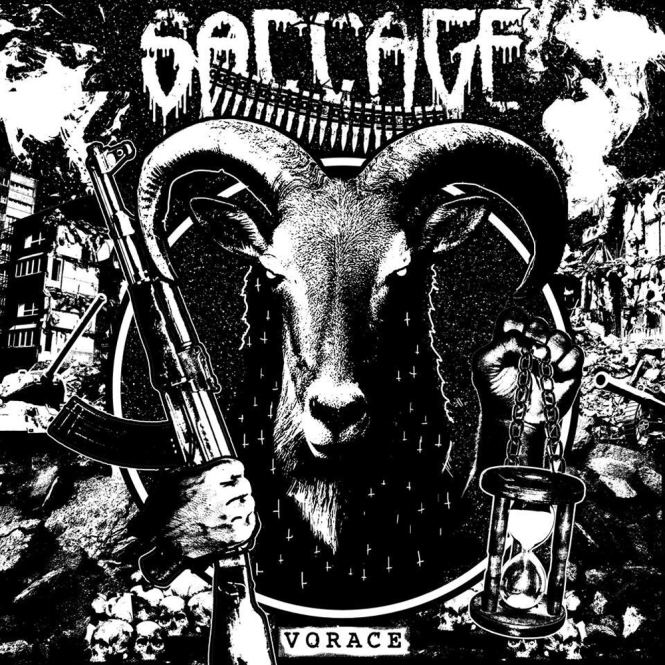 SACCAGE - vorace MMXV CD